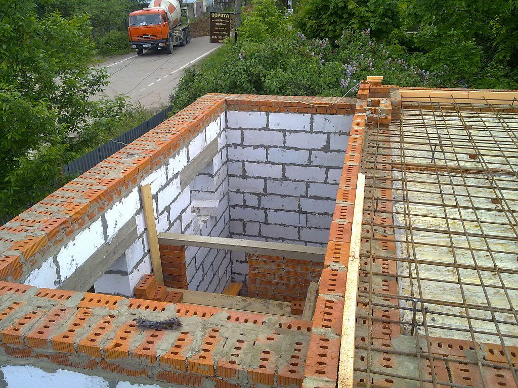 Сколько стоит построит дом из пеноблока своими руками 264
