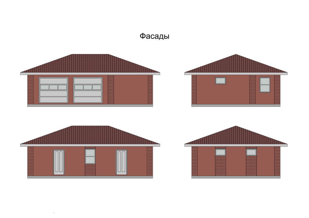 Построить гараж газоблоков